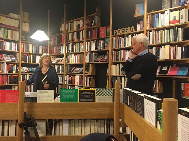 La escritora María Tena y el arquitecto Luis Tena